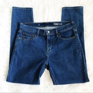Gap 1969 High Waisted Denim Blue Jeans